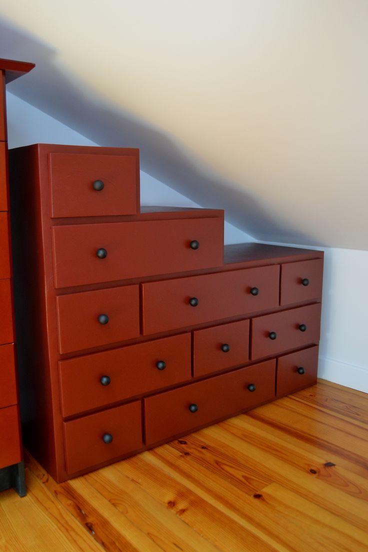 les 13 meilleures images du tableau sous pente en carton sur pinterest meuble en carton. Black Bedroom Furniture Sets. Home Design Ideas