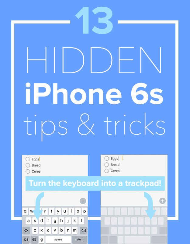 Lucky you, you have the new iPhone! Now here's a few tips on how to use all the new features.