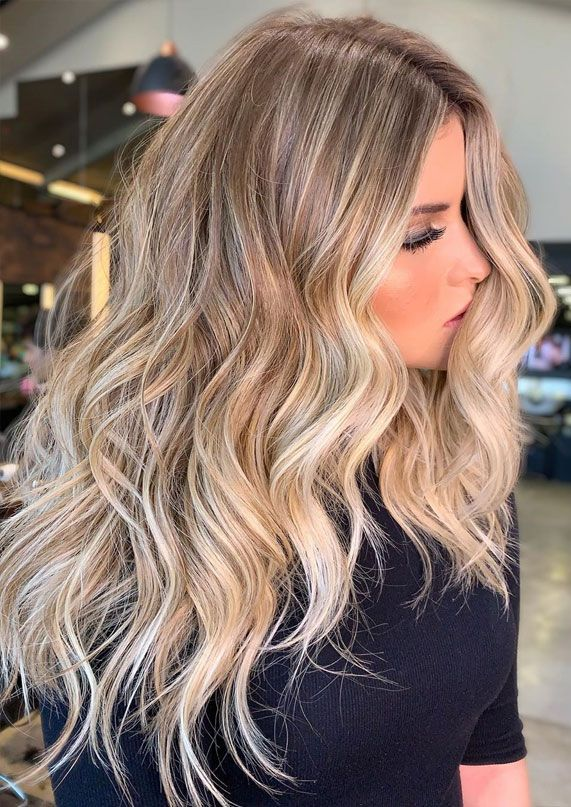 Blond Balayage Highlights Hair Color Ideas Hair Color For Over 50s Ideas Best Hair Color Blonde Hair With Highlights Hair Dye Colors Hair Color Light Brown