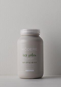 モデーア ビーポーレン   1日数粒、ミツバチ花粉と甜茶の自然な力で、あのつらい春をスーッとすっきりサポート