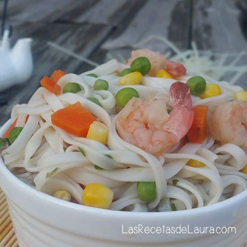 Prepara una sopa maruchan en casa! saludable sin quimicos ni aditivos que dañan tu salud pero con un gran sabor! (y camarones reales ;) )