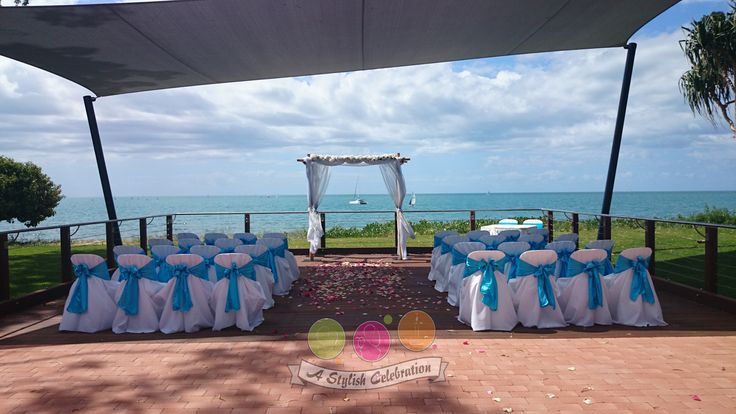 Perfect spot overlooking the ocean for a blue themed wedding. #blue #aqua #wedding #love #ceremony #astylishcelebration #bride #weddingday www.astylishcelebration.com.au