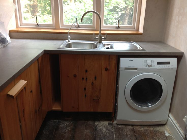 34) Sink and washer sorted