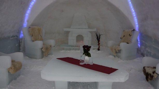Ice Hotel Lake Balea