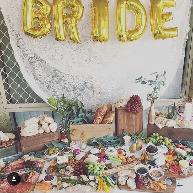 Hens Party Grazing Table by Little Vintage Hire Co.