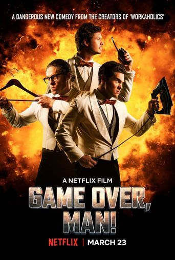 Game Over, Man! (2018) - Watch Game Over, Man! Full Movie HD Free Download - Movie Streaming Game Over, Man! (2018) Online [HD] Quality 1080p. △♥·