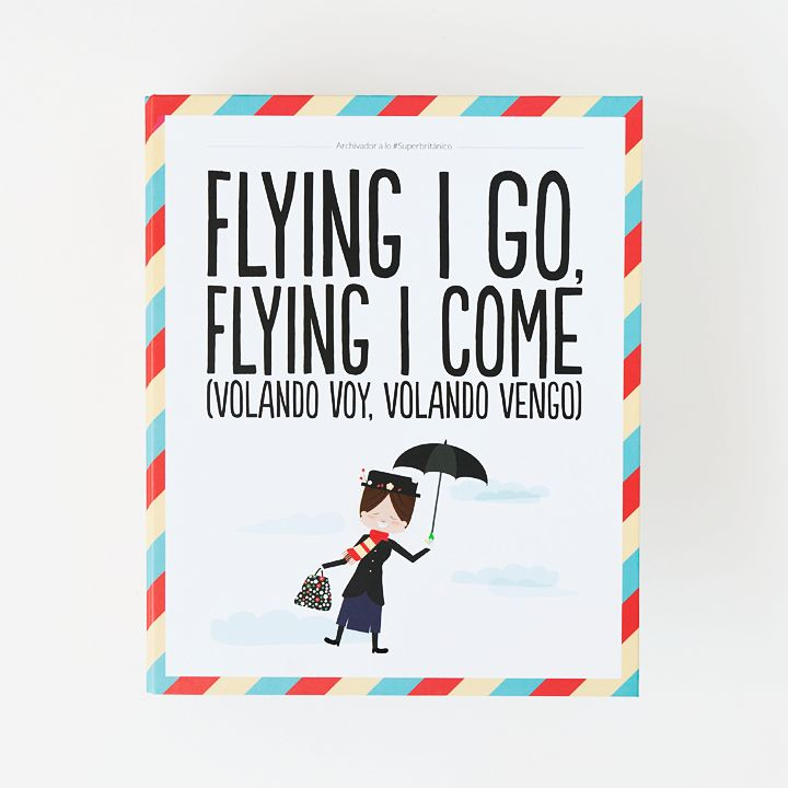 Archivador - Flying I go, flying I come