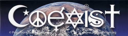 Coexist Over Planet Earth Magnetic Bumper Sticker by PeaceMonger, http://www.amazon.com/dp/B004THAO2E/ref=cm_sw_r_pi_dp_ul6Isb0CAE83Z