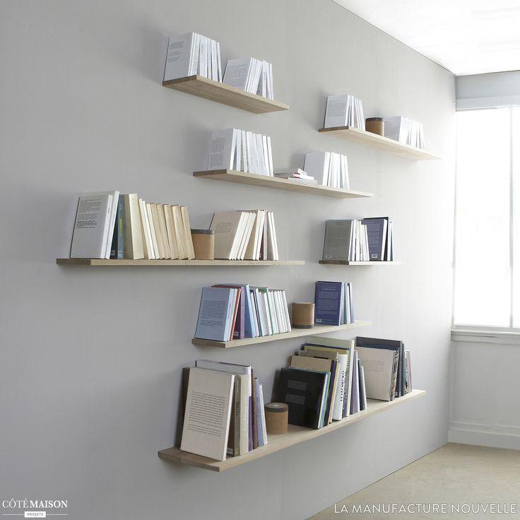 Les 88 meilleures images propos de tag res biblioth ques sur pinterest - Etageres murales pas cheres ...