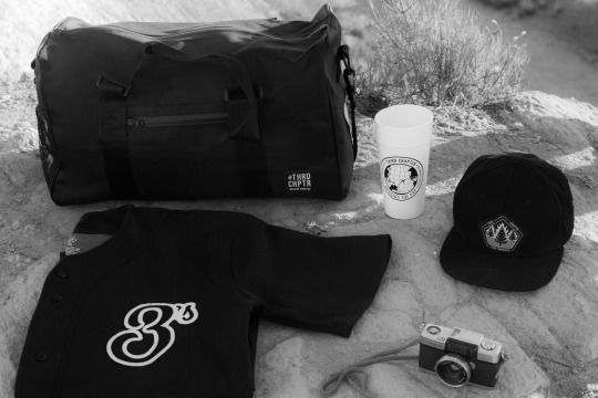 Bridging the Gap Accessories, Treeburners Snapback, Smell Proof Duffle Bag, 3C Jersey. #thirdchapter #streetwear