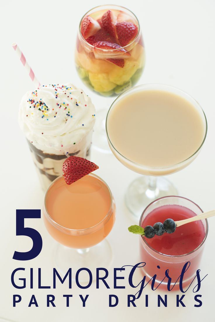 5 Gilmore Girls Party Drinks & Tees