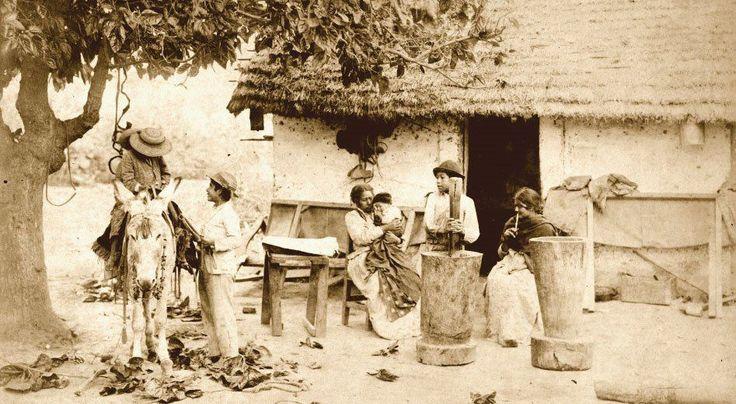 1890's Jujuy, familia rural
