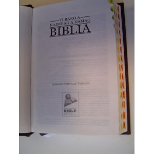 Naimbaga Damag Biblia, Ilokano - (Philippines) - Popular Version   $59.99