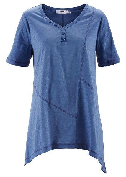 Shirt z dłuższymi bokami, krótki rękaw • 49.99 zł • bonprix