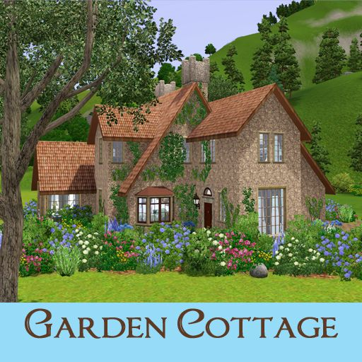 Garden Cottage: My Sims 3 Blog: Garden Cottage By Ruth Kay