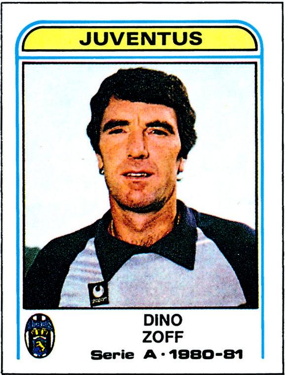 Dino Zoff - 1980/81 - Calciatori panini