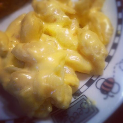 Creamy Macaroni and Cheese - See substitute for heavy cream and added ...