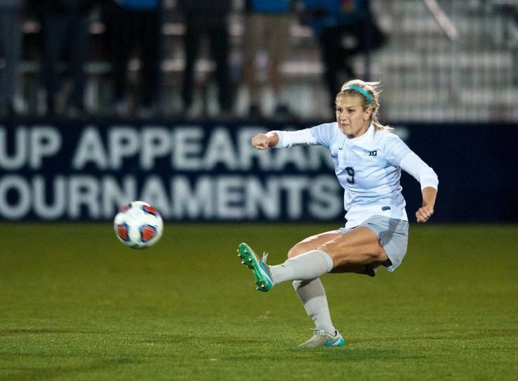 Penn State forward Frannie Crouse takes a shot during a game against Bucknell University Friday, Nov 11, 2016 at Jeffrey Field.