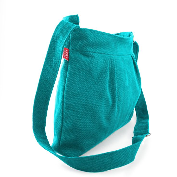Cyan, Small and Sweety, Purse, Pleated Bag, Canvas Bag, Shoulder bag, Crossbody bag, Women Accessories, High quality, gift for her, Spring