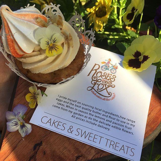 Morning (Cakes & Sweet Treats) By @rosesandfox