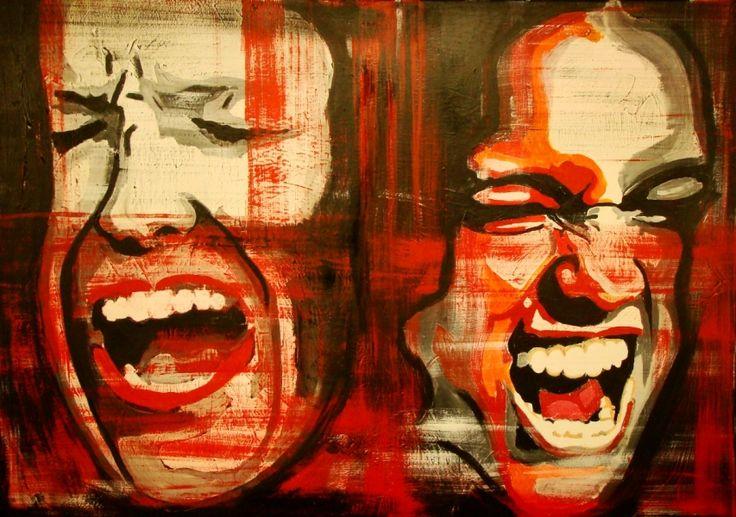 Wojciech Bąbski, Despair, 2013 #art #contemporary #artvee