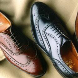 Туфли из лошадиной кожи
