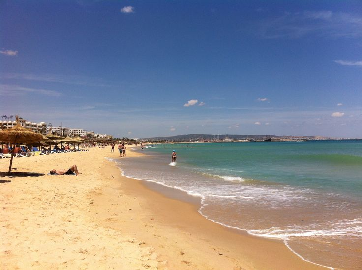 Tunisia beach.