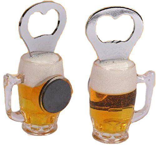 Décapsuleur chope de bière aimanté -Ouvre bouteille magnétique magnet pour frigo: Un cadeau original et insolite pour tous les amateurs de…