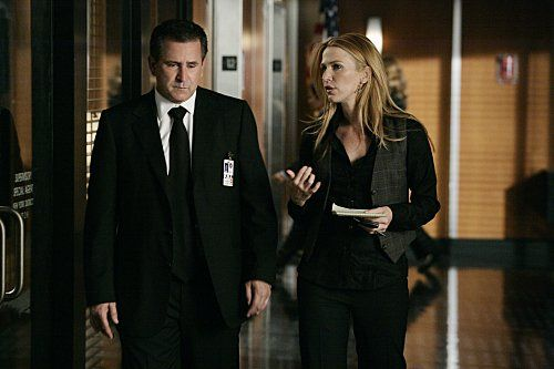 Anthony LaPaglia and Poppy Montgomery in Without a Trace (2002)