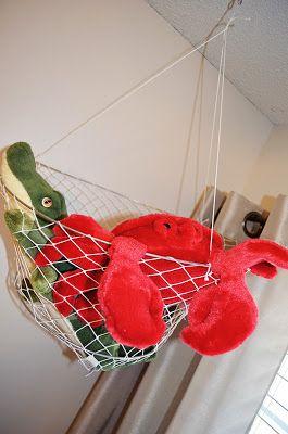 Louisiana inspired - alligator and crab in crab net. Deegan's nursery. Baby boy nursery decor. Nursery design.