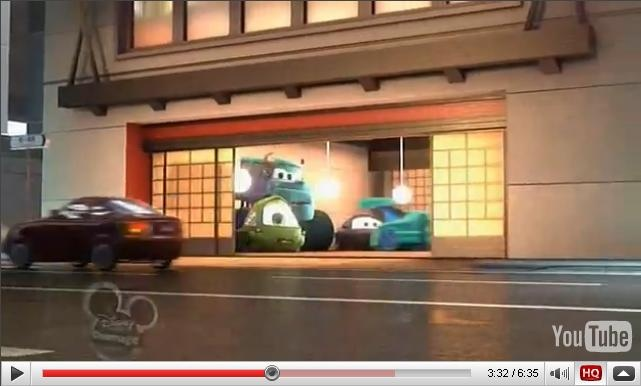 Monsters Inc Mike & Sulley in Cars   A113   Pinterest ...