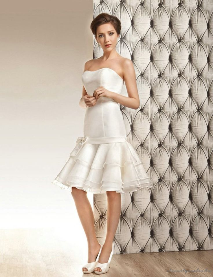 Dorene Short rövid menyasszonyi ruha