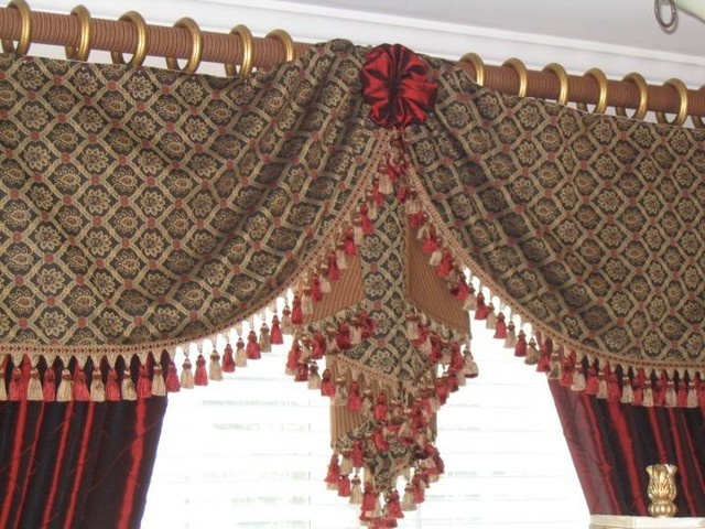 Gallery Valances And Swags Curtains Custom Valance Photo