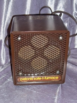 Vintage pelonis safe t furnace electronic space heater for Choosing a furnace