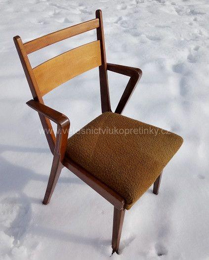 Designové retro židle, 2ks