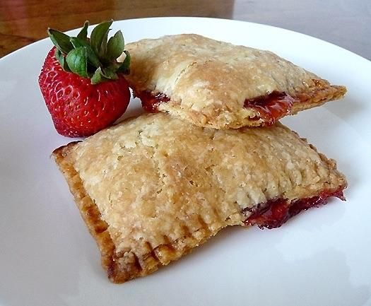 [Homemade] Strawberry Pop Tarts