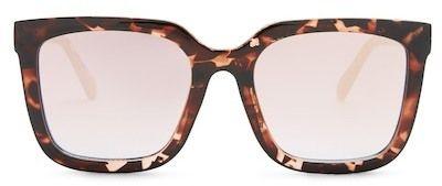 #affiliatead -- QUAY AUSTRALIA Women's Genesis Square Mirrored Sunglasses -- #chic only #glamour always