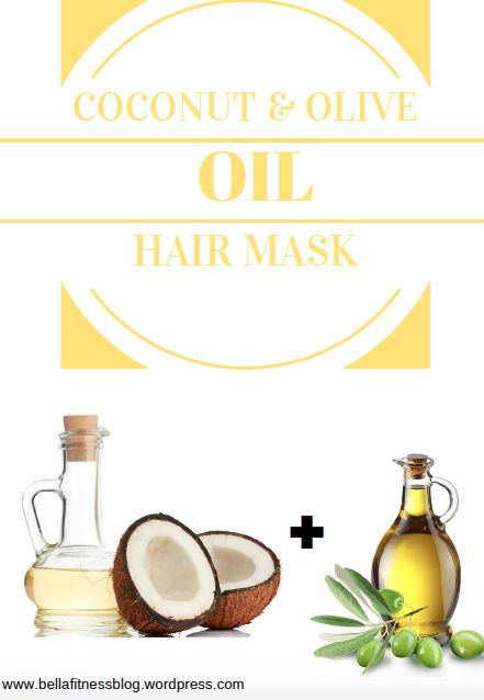 Directions: You'll need coconut oil and olive oil for this hair mask Equal parts of each for example; 2 tablespoons coconut oil and 2 tablespoons of olive oil Depending on your hair length, …