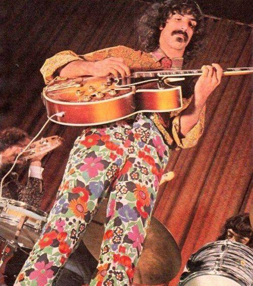 """heresjohnnyinmymind: """"Frank Zappa """""""