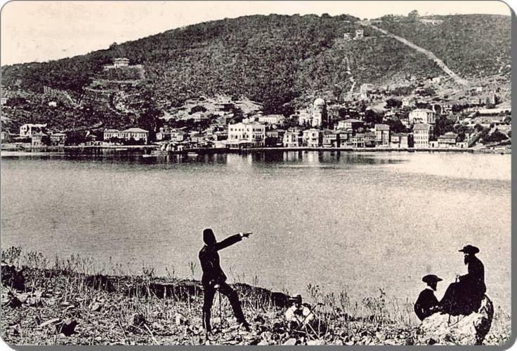 Kaşıkadası'ndan Burgazada - 1900 lü yıllarEmbedded image permalink
