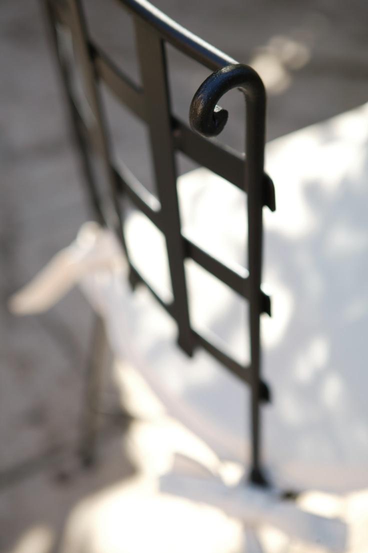 Sillas de forja artesanal. Fabricación y tienda online. www.fustaiferro.com.