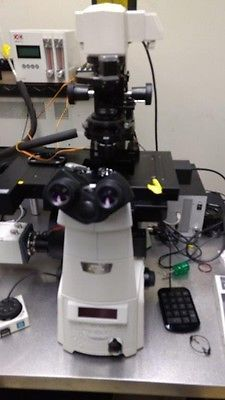 Nikon Eclipse Ti-E Inverted Microscope System - TIRF Confocal FRET Time-Lapse
