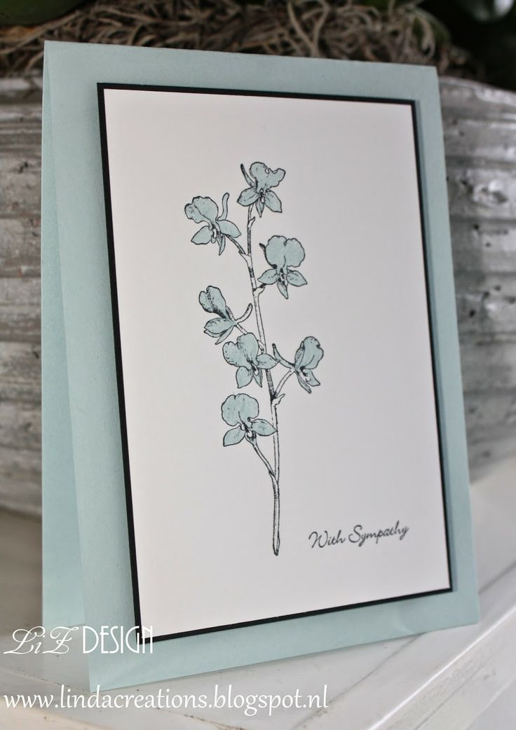 Stampin Up With Sympathy card