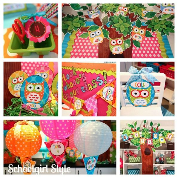 Cute Owl Classroom Decorations ~ Cute classroom decor ideas could also be