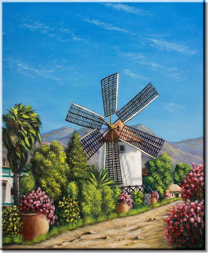 Mølle - Gran Canaria/Windmill - Gran Canaria