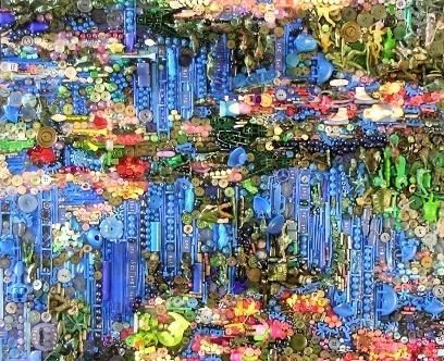 masterpieces-recreated-found-objects-jane-perkins- made with buttons and stuff!