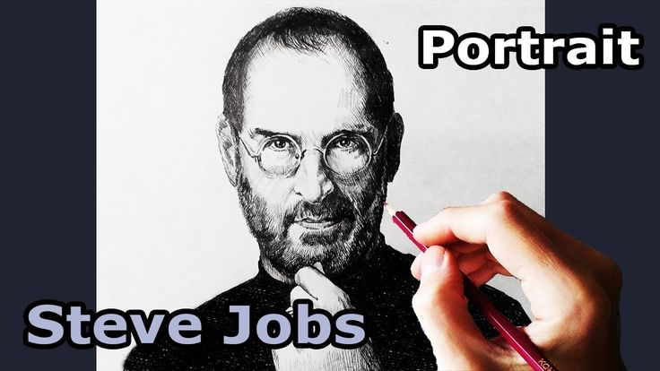 Drawing Steve Jobs