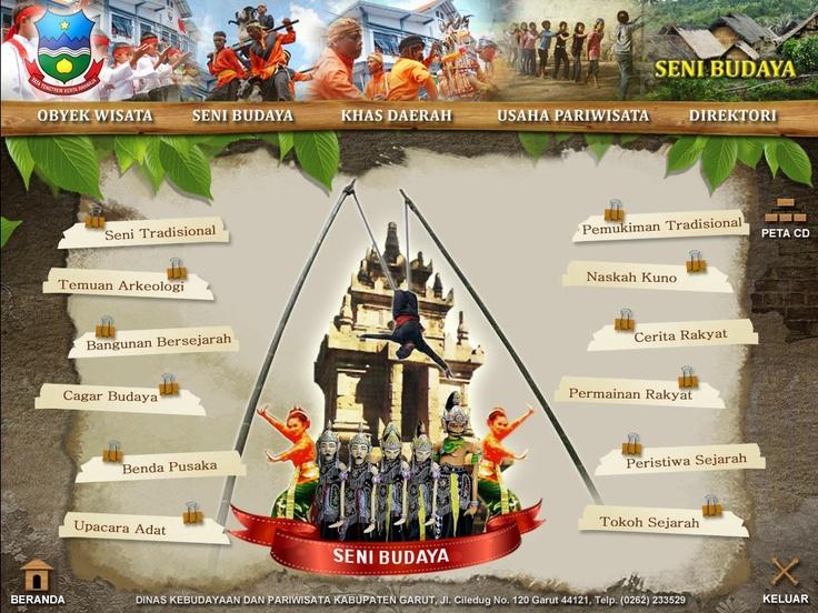 CD Profil Pariwisata Kab.Garut (inside page)