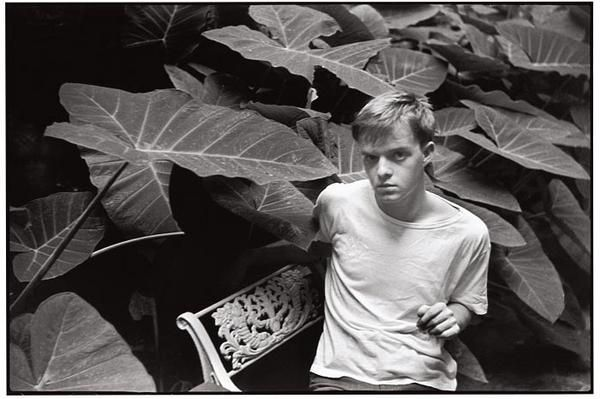 Truman Capote, writer. New Orleans, Louisiana, United States, 1947.  \\ Henri Cartier-Bresson (August 22, 1908 – August 3, 2004) was a French photographer considered to be the father of modern photojournalism.