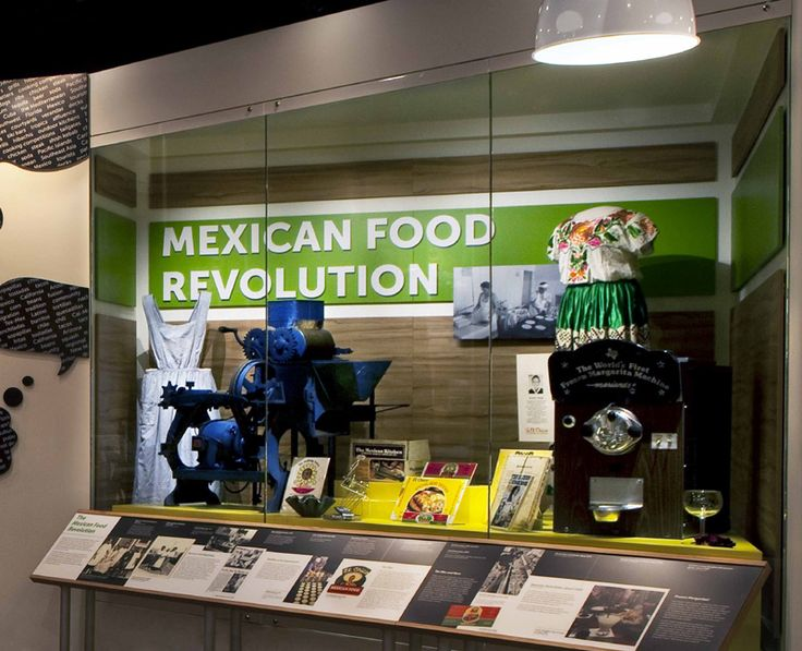 Foods and flavors from mexico have influenced american